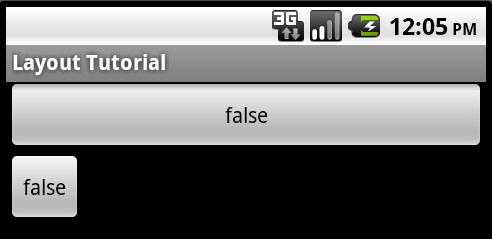 "Erster Button mit layout_width=""fill_parent"""